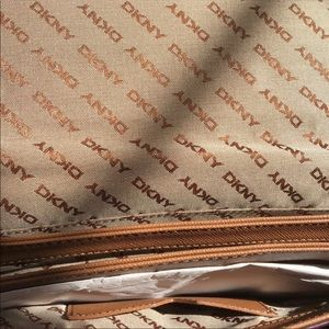 Dkny Bags - Maroon Calf Hair Flap Closure Hand Bag